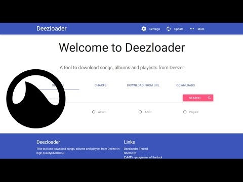 Deezloader is the new Grooveshark