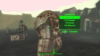 Fallout4 входи и выходим из комнаты разработчиков с полным комплектом силовой брони X1-01