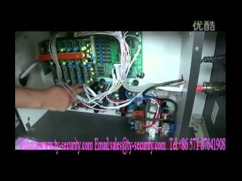How to debug the door frame metal detector for security