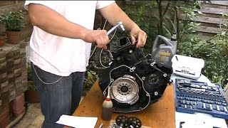 BMW K75 engine reassembly and...
