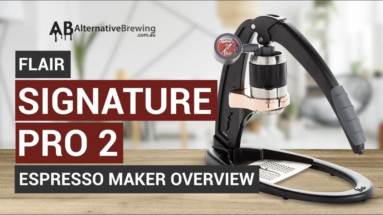 Flair Signature Pro 2 Espresso Maker Overview
