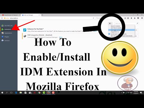 How To Enable/Install Idm Extension In Mozilla Firefox
