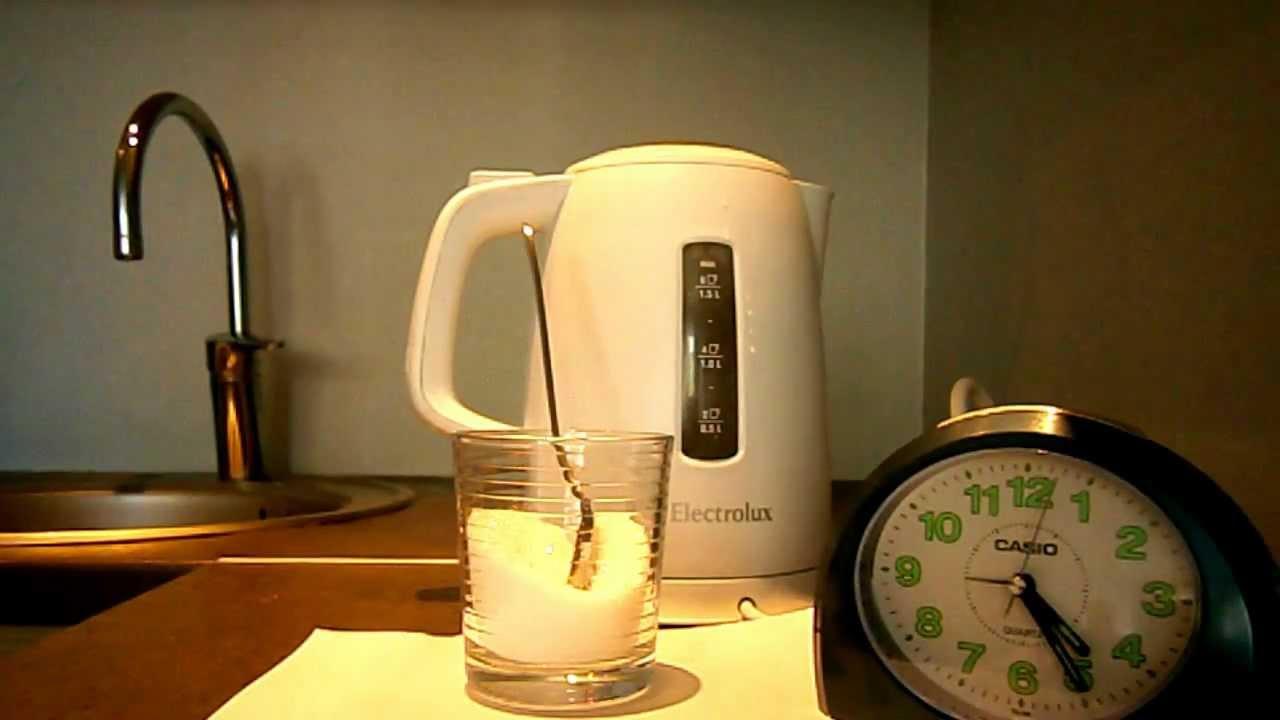 Как очистить чайник от накипи - 6 быстрых способов (фото, видео)