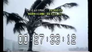 Hurricane Betsy 1965!  Part-3  Winds and Seas Begin to Increase!