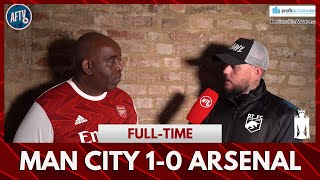 Man City 1-0 Arsenal | Our Away Results Against The Big Teams Is Pathetic! (DT)