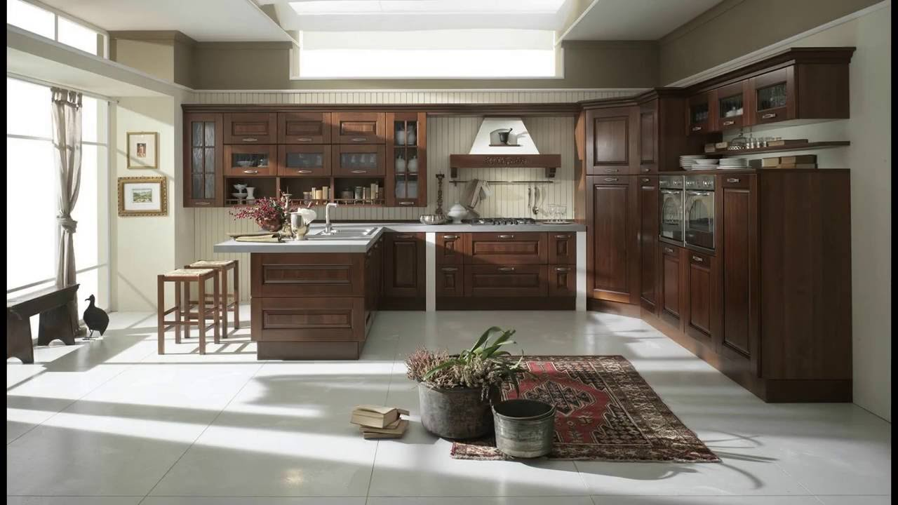 Sofia - Cucine classiche by Cucinesse - YouTube