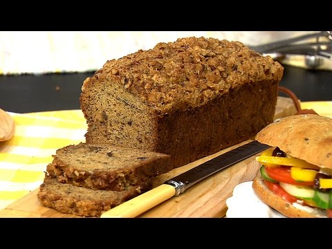 Chef Ricardo Larrivee's banana bread with maple crumble