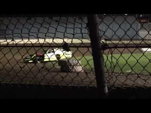 Lafayette County Speedway 4-21-17 heat race start