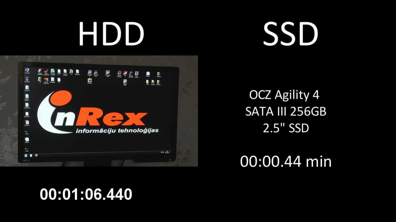 Hdd Raptor 10000rpm Vs Ssd    Boot Time