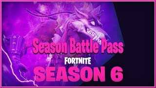 FORTNITE : Battle Royale - SEASON 6 Battle Pass Rewards Trailer 2018 (Switch. PC, PS4 et XB1) HD