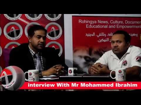 interview With Mr Mohammed Ibrahim in Rohingya