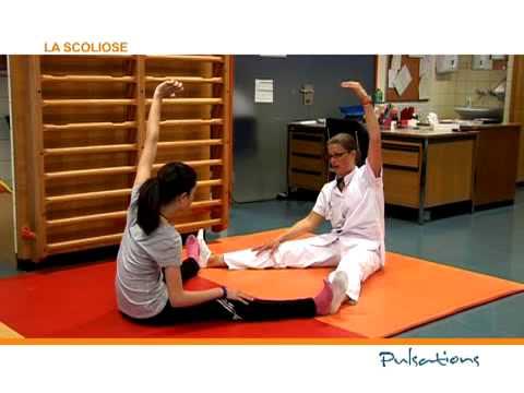La scoliose : remettre le dos droit