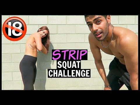 STRIP SQUAT CHALLENGE *GONE TOO FAR*