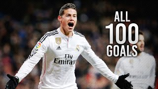James Rodriguez ● All 100 Career Goals 2007-2016 | HD
