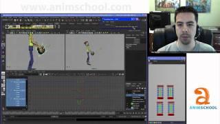 Animation School - AnimSchool: Adding Smear Frames, Part 1
