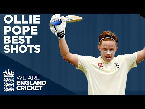 Ollie Pope Best Shots! | County Championship 2019 | England Future Stars | England Cricket 2020