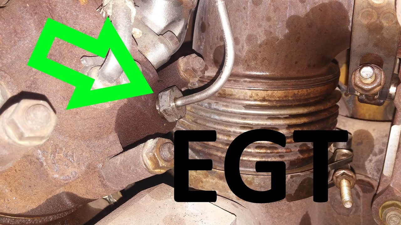 How To Install An EGT Sensor  Diesel EGT Sensor Change