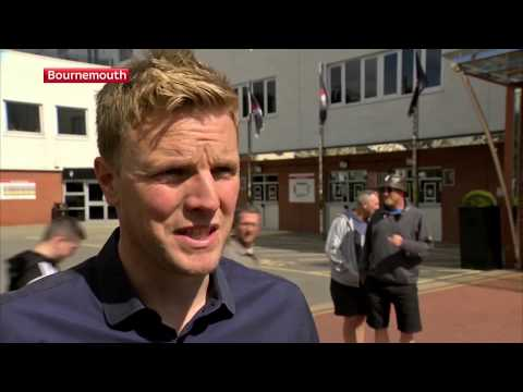 Sky Sports | The day after promotion with Eddie Howe