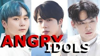 [EKC] Angry, Annoyed, and Frustrated Kpop Idols