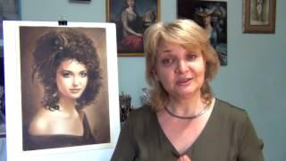 Как нарисовать портрет по фотографии. Техника