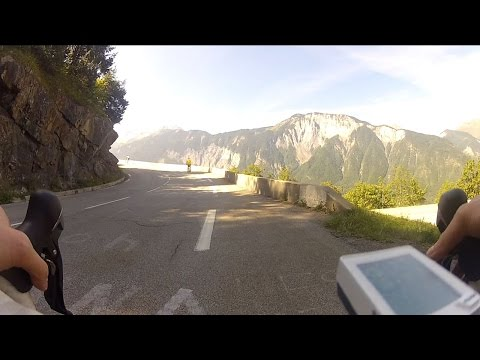 Ascension de l'Alpe d'Huez à vélo
