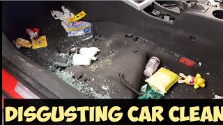 Cleaning a really dirty car - vauxhall holden saturn astra