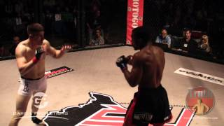 Cage Combat 13 - James Powell vs. Aaron Reeves