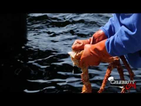 Celebrity Chef Cooks Crab on the Aleutian Ballad!