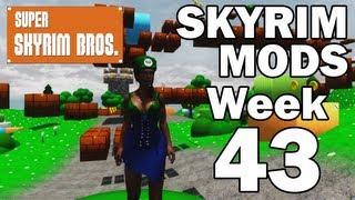 Skyrim Mods - Week #43: SUPER SKYRIM BROS, Unique Females, Oakwood, Amberguard thumbnail