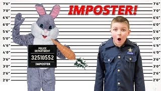 Funny Bunny the Easter Bunny Imposter silly funny kids pretend play video