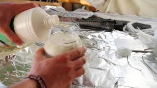 Proof Of Concept - Styrofoam, Epoxy, Fiberglass, Acetone