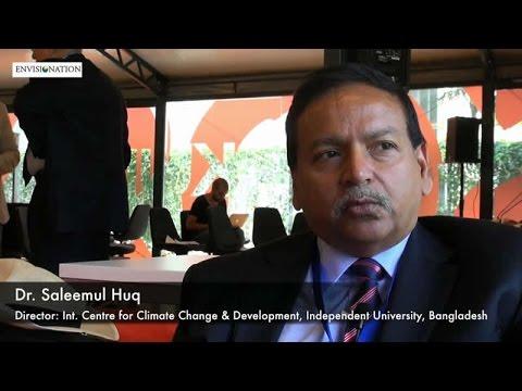 Dr  Saleemul Huq Discussing Islamic Climate Change Declaration