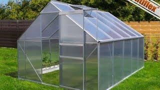 Szklarnia ogrodowa, montaż szklarni aluminiowej, budowa szklarni aluminiowo poliwęglanowej