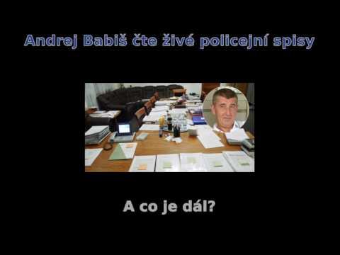 Andrej Babiš - přebrání policejního spisu