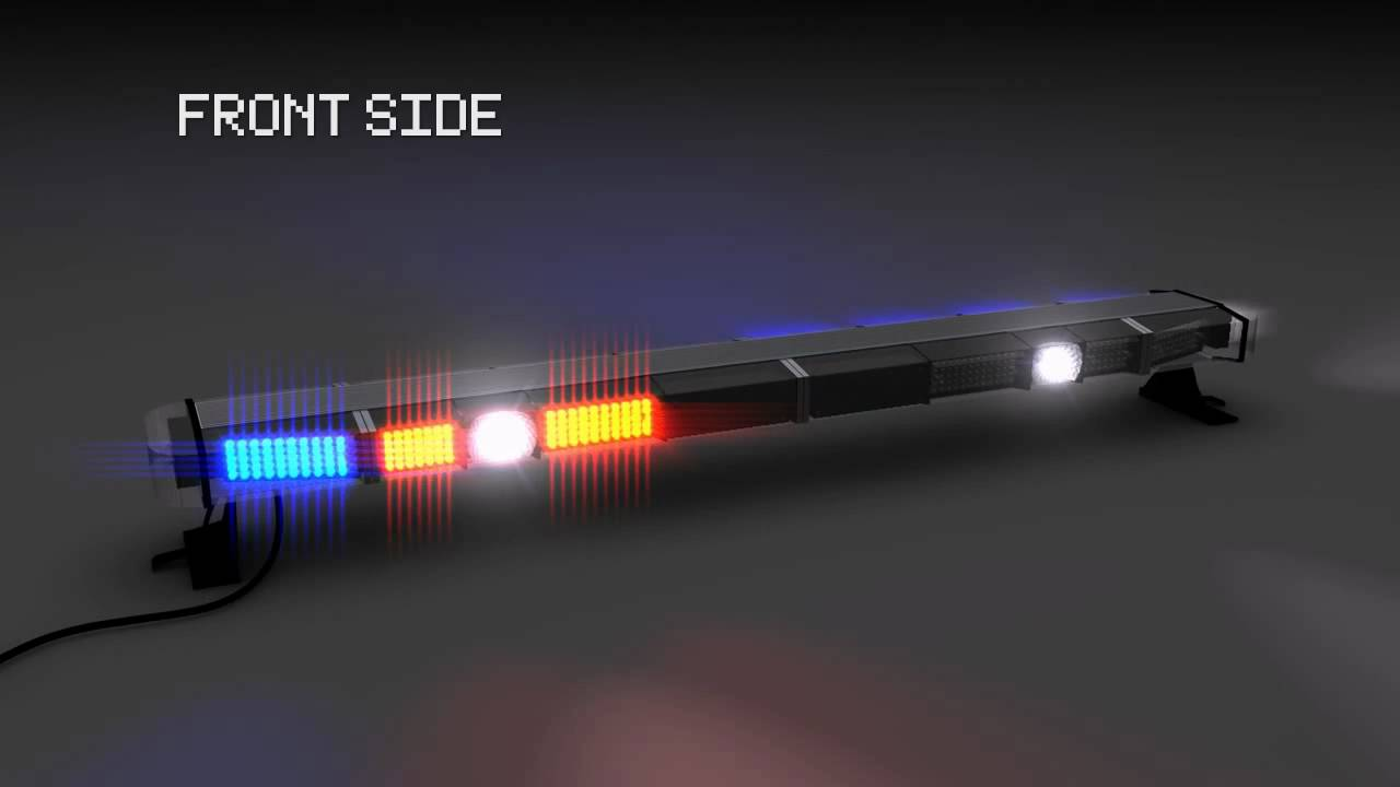 3d led emergency lightbar youtube aloadofball Image collections