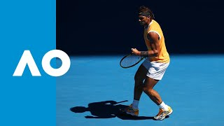 Rafael  Nadal v Tomas Berdych first set highlights (4R) | Australian Open 2019