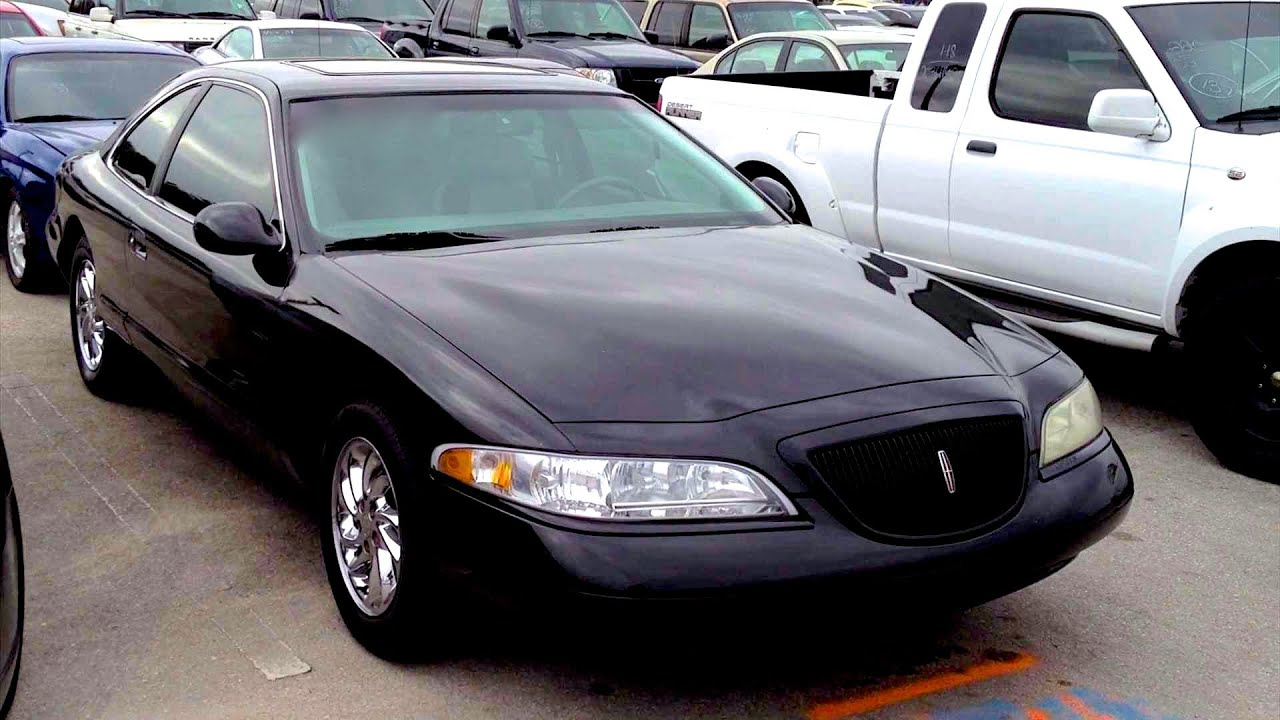 hight resolution of 1998 lincoln mark viii lsc start up quick tour rev with exhaust view 74k