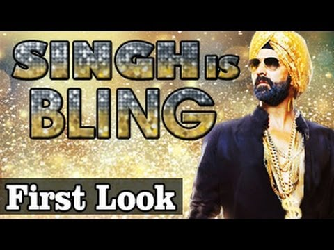 Singh is Bling ft Akshay Kumar FIRST LOOK RELEASES