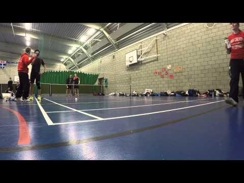 Hansel Sadikin (Northumbria) vs Tim Morris (Newcastle) - Stan Calvert - Part 1