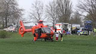 Motorradunfall bei Fritzlar: 71-Jähriger schwer verletzt, Reh tot