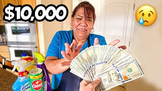 Surprising My Maid With $10,000.. (VERY EMOTIONAL)