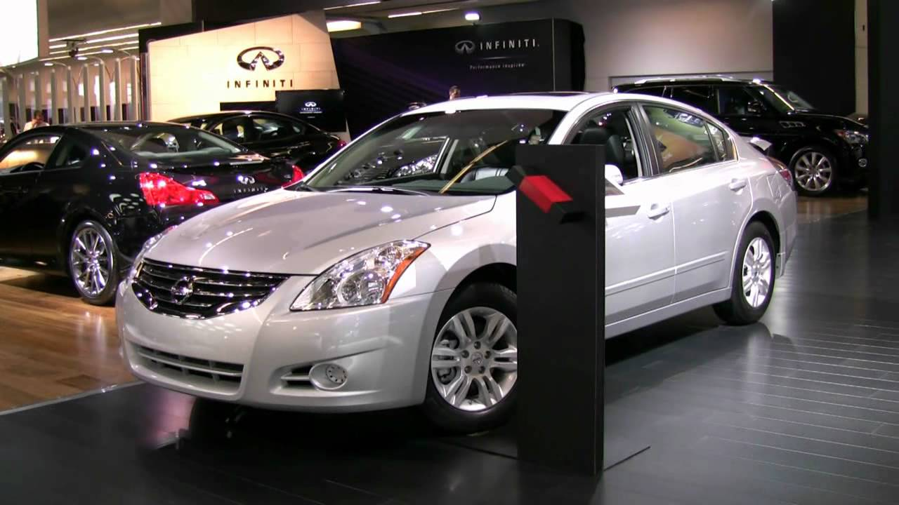 2012 Nissan Altima 2 5sl Exterior And Interior At 2012