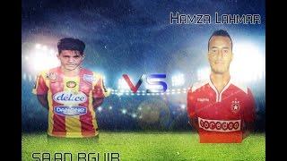 hamza lahmar vs sad b guir mr freekickerz حمزة لحمر vs سعد بڨير أساتذة الركلات الحرة