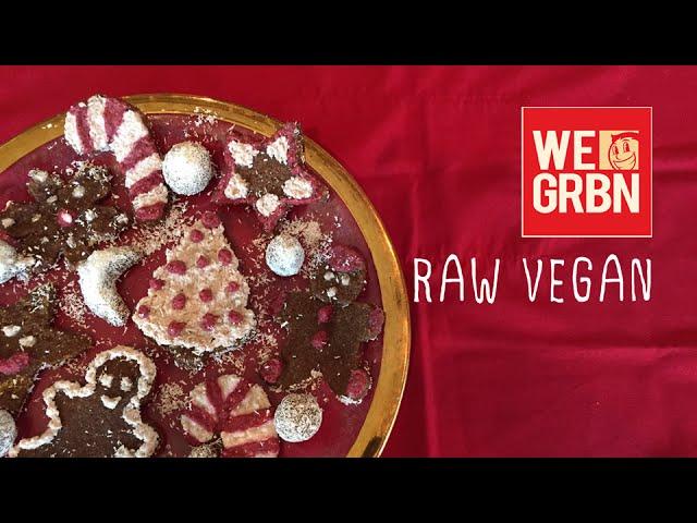 Raw Vegan Christmas Cookies (with Rawvana) - We Grubbin