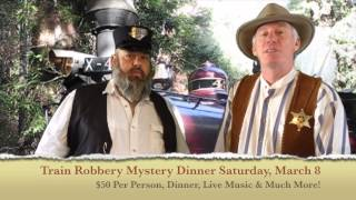 The Great Train Robbery Mystery Dinner Event