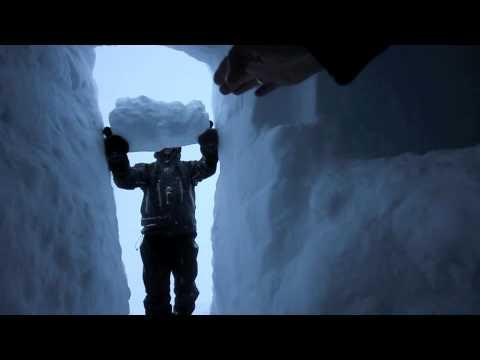 Kvs-Lyngdal: Hvordan lage snøhule