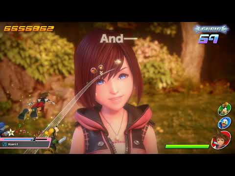 KINGDOM HEARTS Melody Of Memory – Release Date Announcement Trailer | PS4