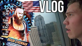 USA VLOG! - WWE SuperCard SEASON 4 Event, Seattle + Entwickler-Interview (Deutsch)