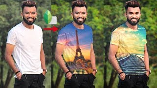 How to Put images on T - Shirts in Snapseed | Snapseed editing tricks |Snapseed editing tutorial