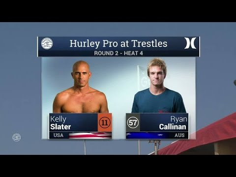 Hurley Pro at Trestles: Round Two, Heat 4